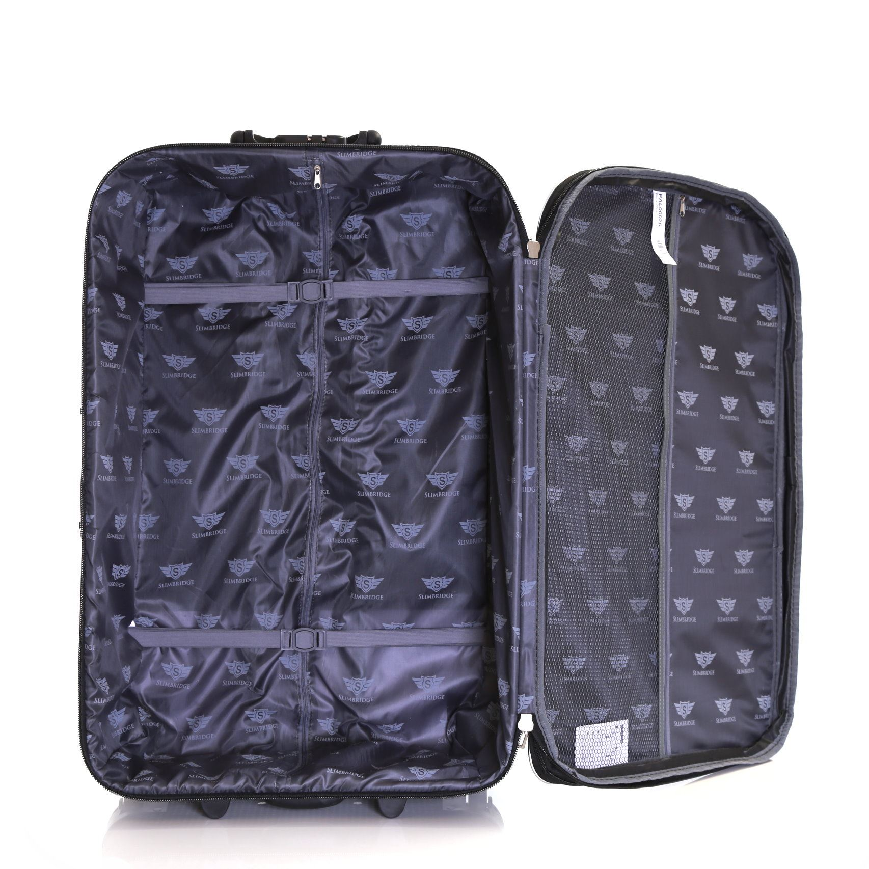 Set-of-2-Lightweight-Expandable-Luggage-Trolleys-Suitcases-Cases-Bags-Set thumbnail 5