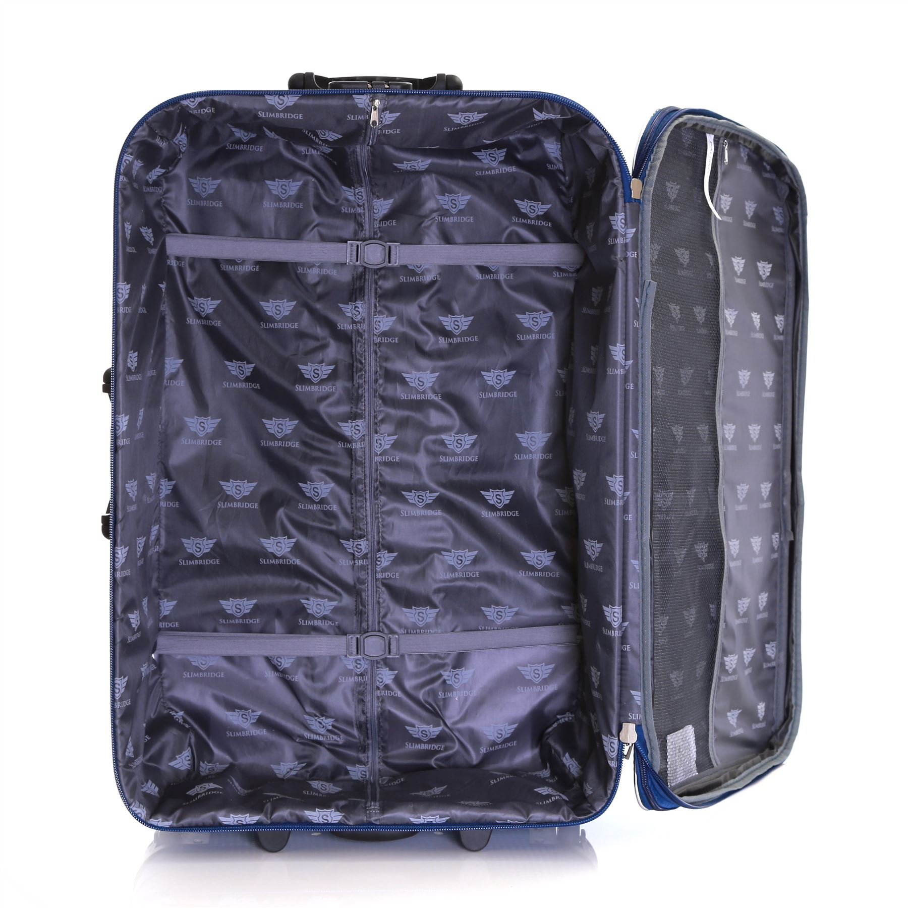Set-of-2-Lightweight-Expandable-Luggage-Trolleys-Suitcases-Cases-Bags-Set thumbnail 14