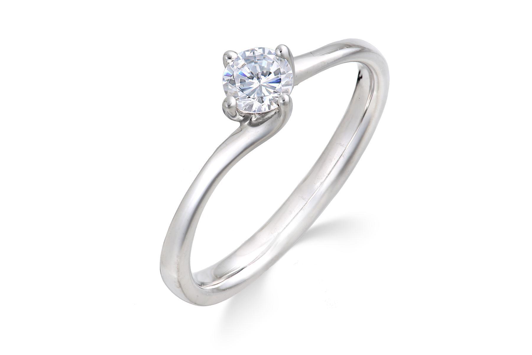 platin diamant solitaire ring mit 1 3 karat nat rlichen premium qualit t diamant ebay. Black Bedroom Furniture Sets. Home Design Ideas