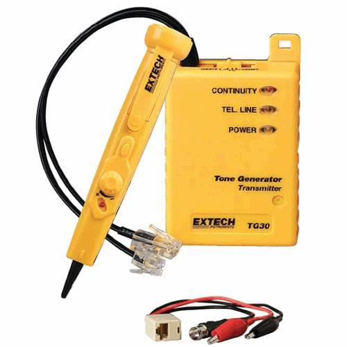Lowes Tone Generator Electrical Wire Tracer Electrical: Extech TG30 Tone Generator And Amplifier Wire Tracer Kit