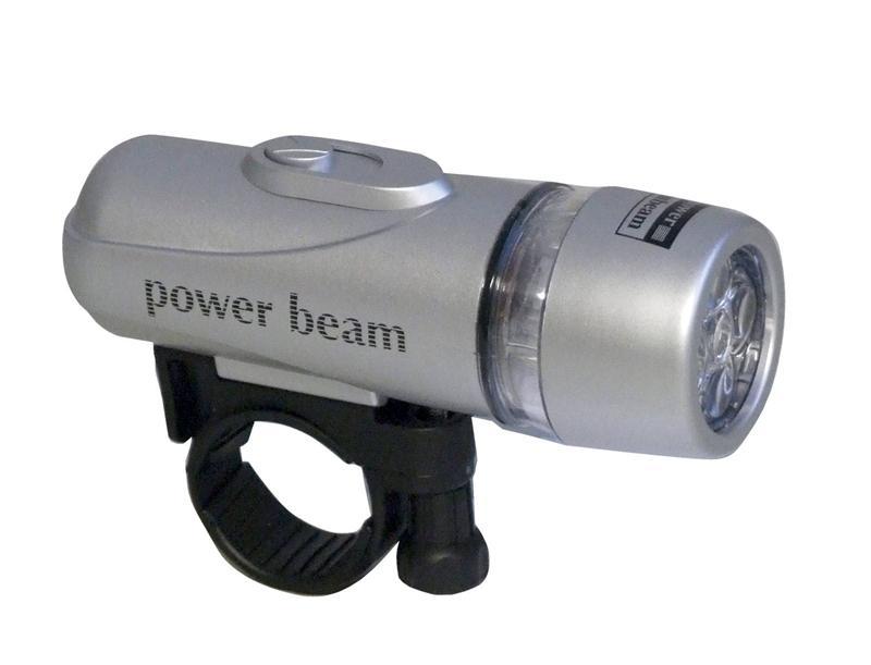 5x-Silber-Weiss-LED-Wasserdicht-Vorder-Zyklus-heller-Auto-L119K