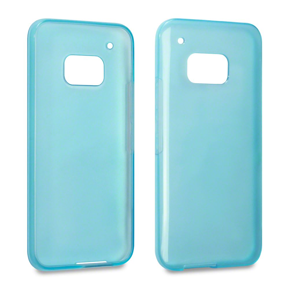 Hybrid Slim Fitted Rubber TPU Gel Skin Case Cover for HTC ...