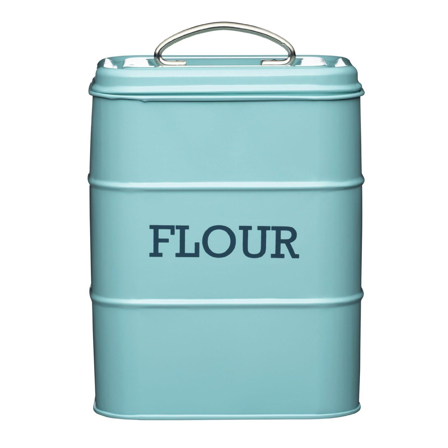 Living Nostalgia Flour Canister Kitchen Storage Jar