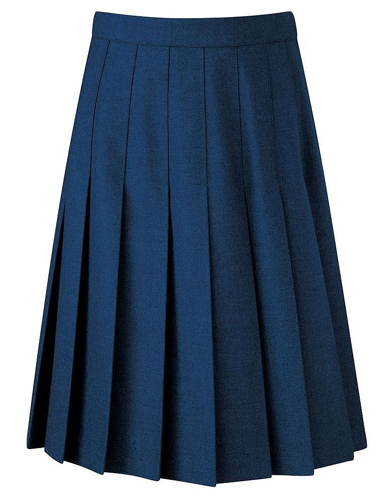 banner davenport knife pleat skirt black grey navy