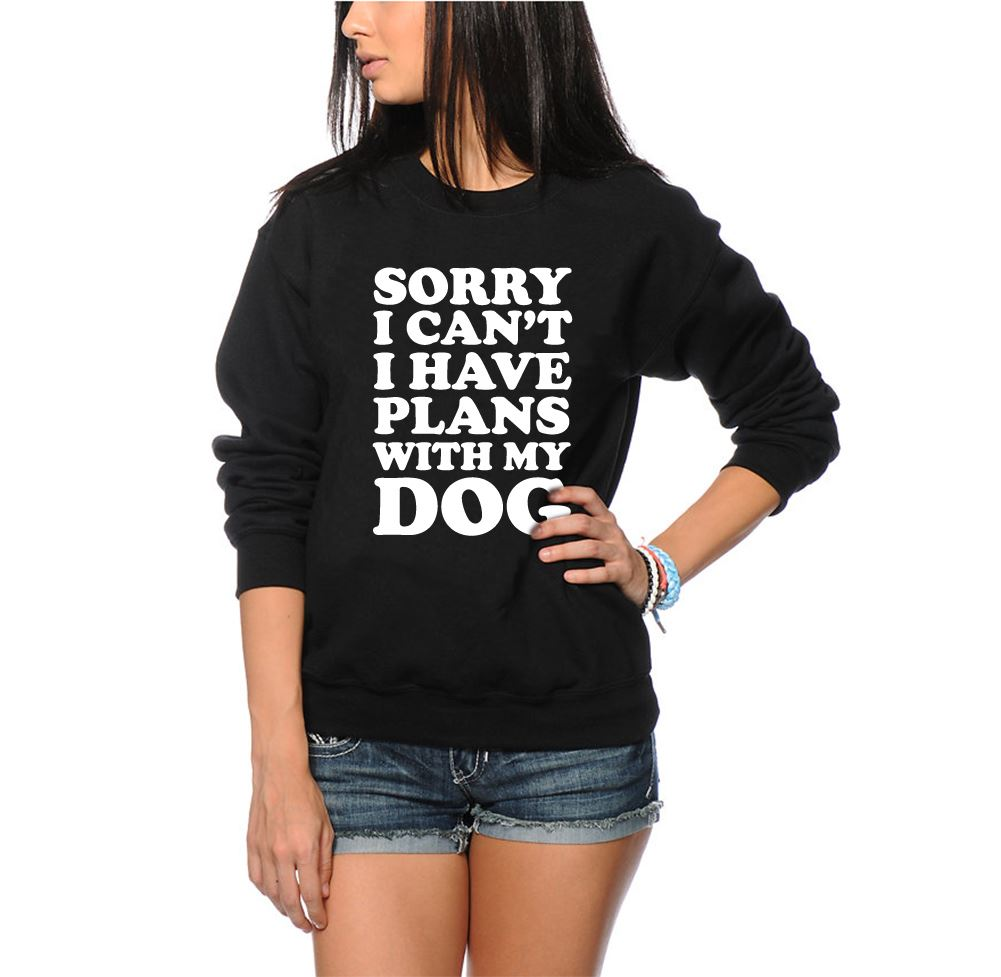 Black dog t shirt ebay - Sorry I Can 039 T I Have Plans With