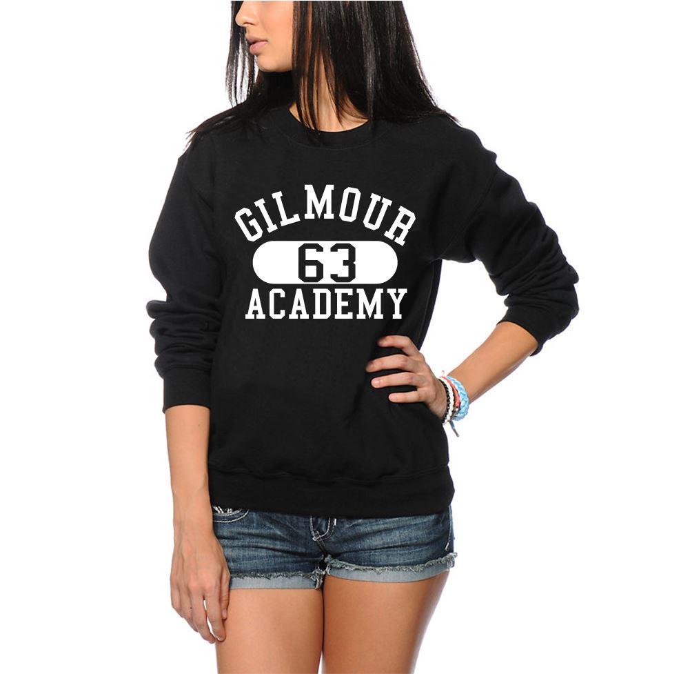 Gilmour-Academy-63-Retro-PINK-FLOYD-Unisex-Nero-o-Grigio-Felpa-Maglione