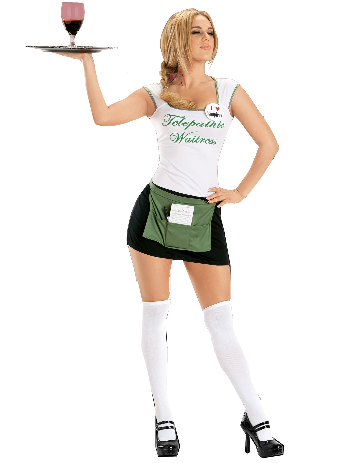 True Blood Sookie Waitress Costume