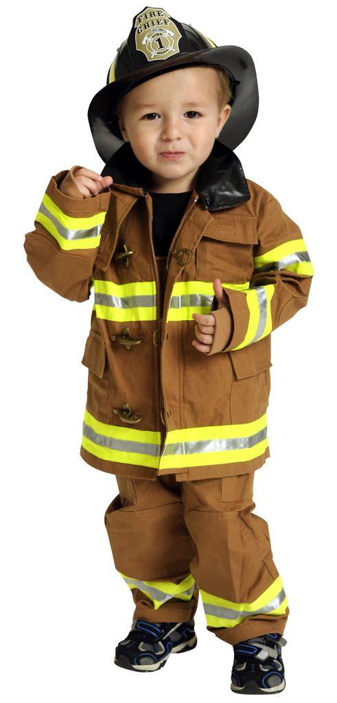 Костюм пожарного своими рук 50