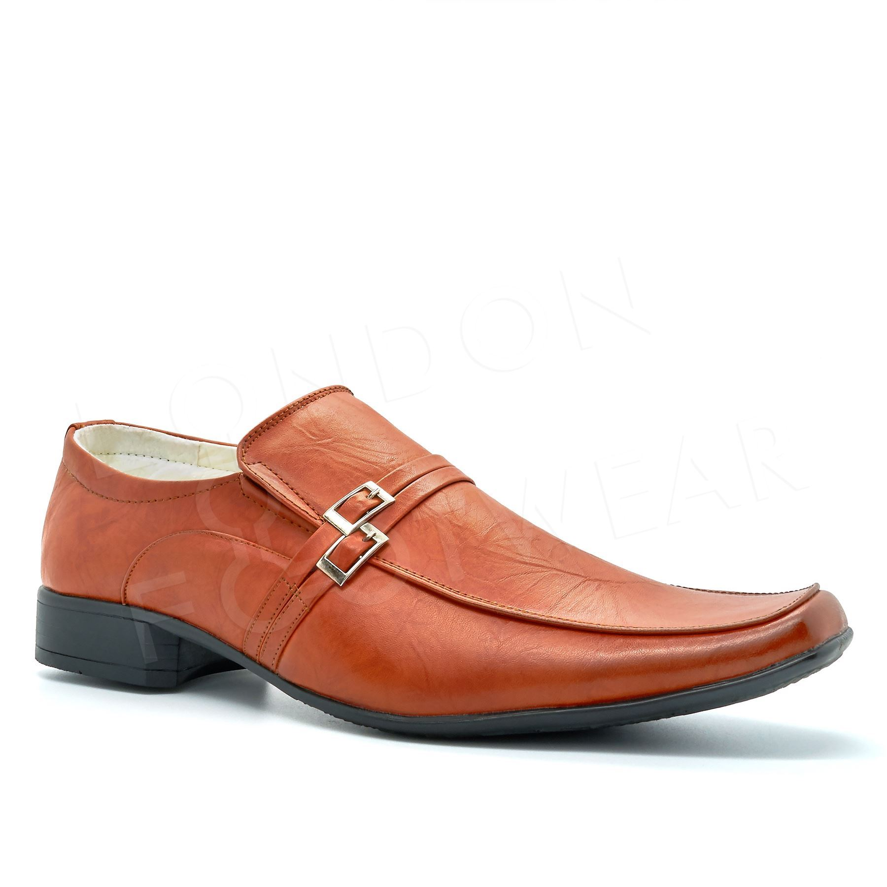 mens new formal evening loafers shoes size brown on