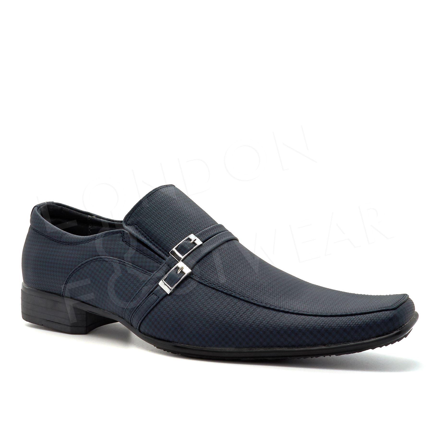 new mens smart formal office wedding shoes italian