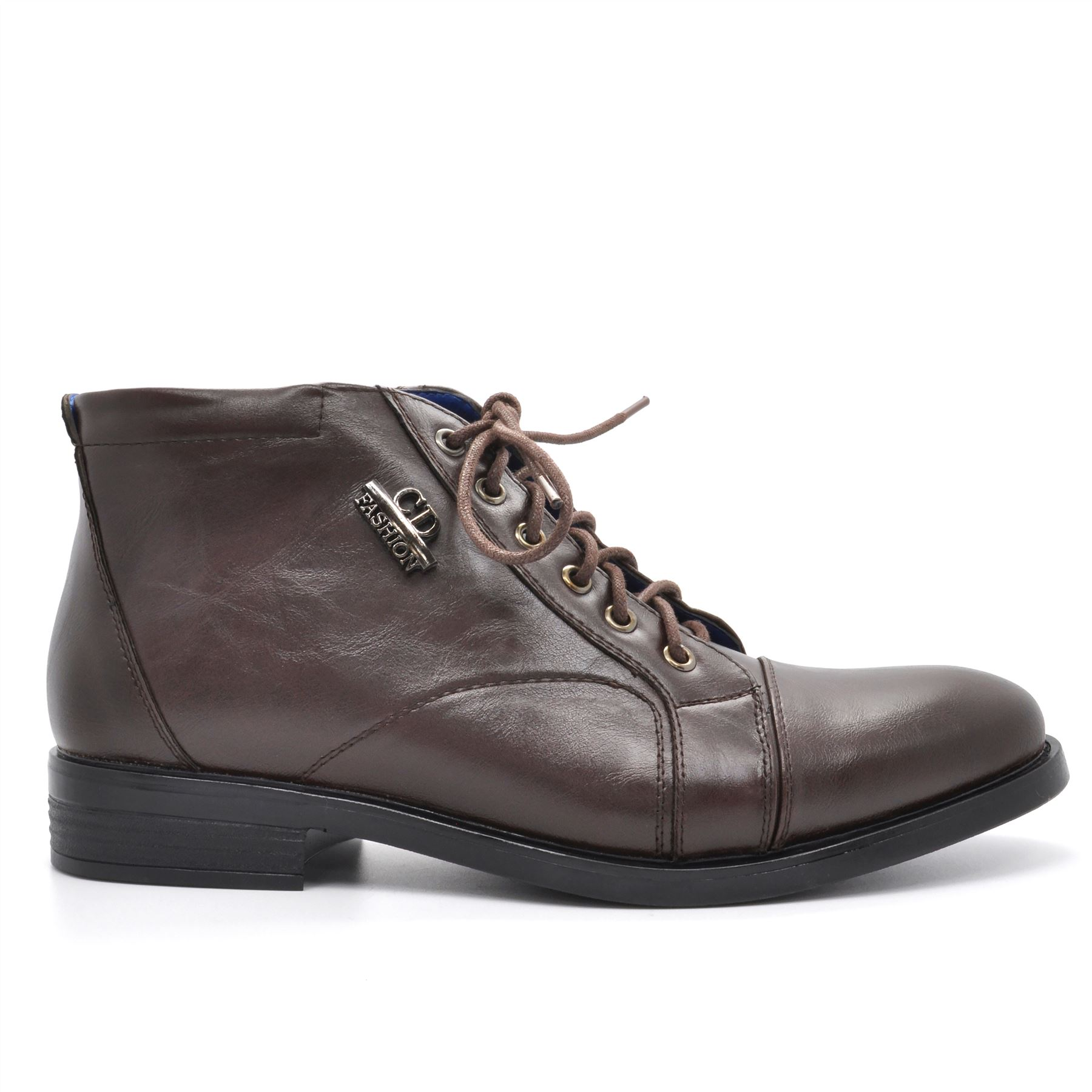 new mens casual suede leather desert ankle boots smart