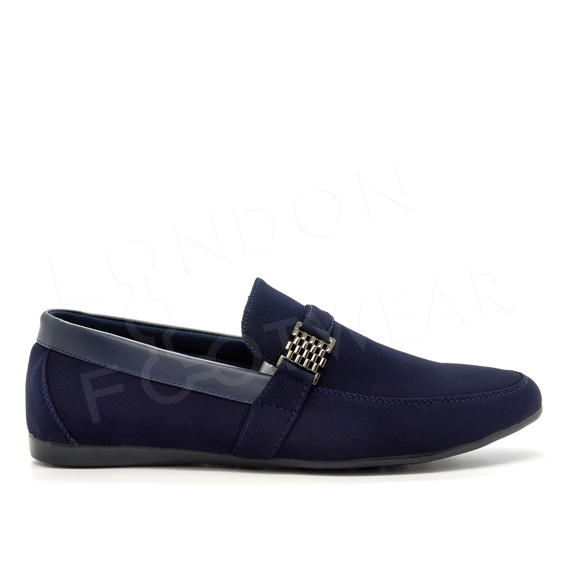 Mens Casual Loafers Smart Designer Slip On Shoes Driving