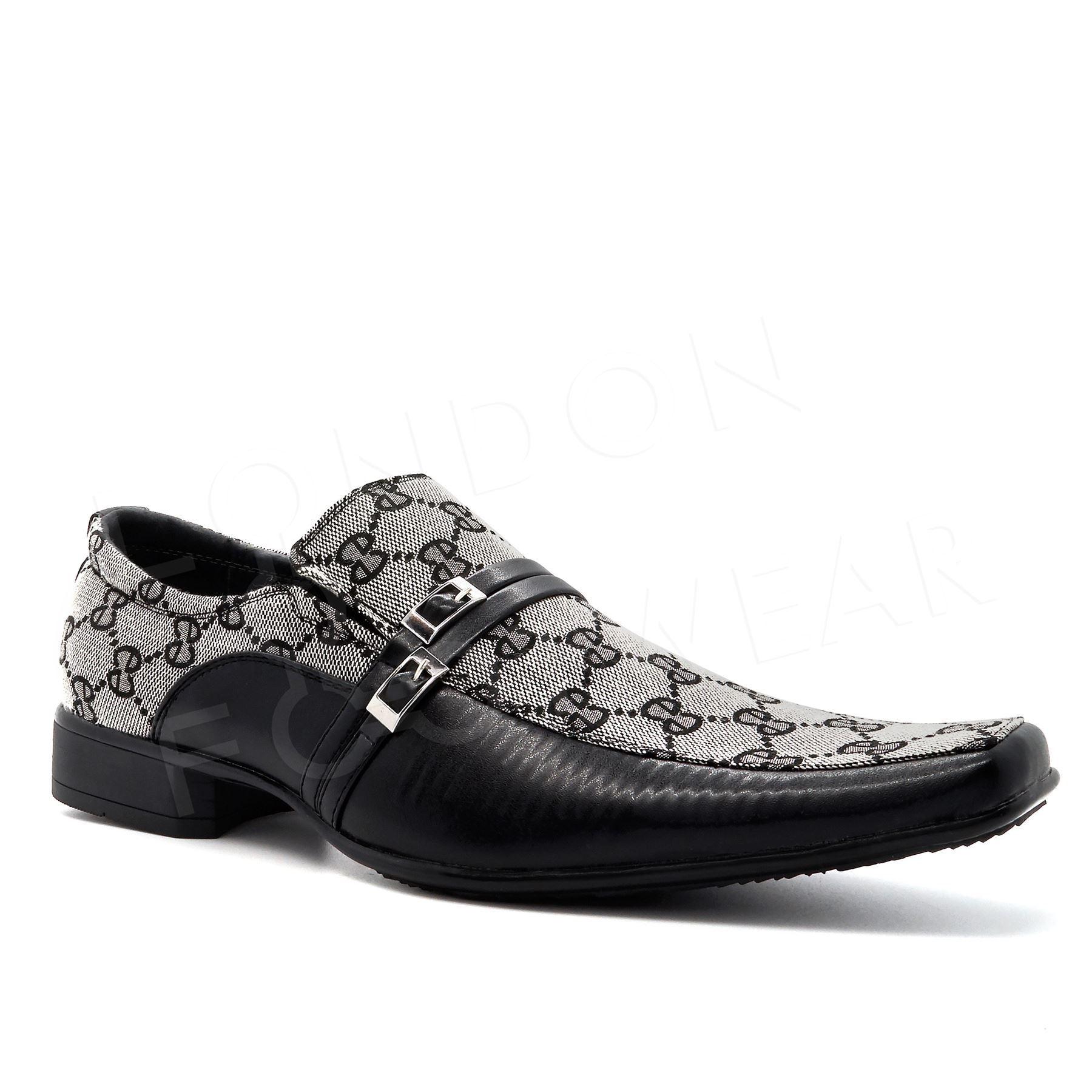 black shoes mens new italian smart wedding dress