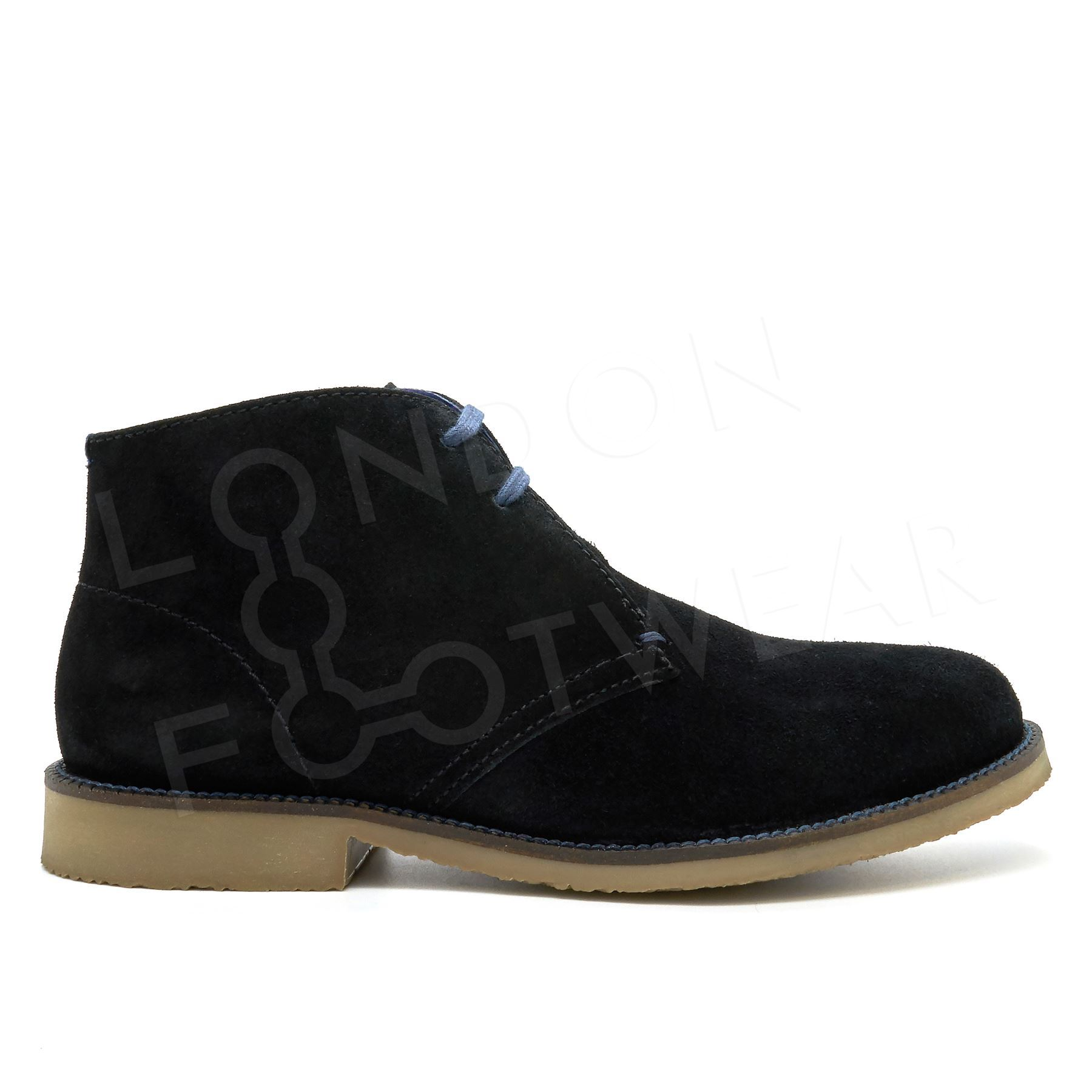 new mens suede leather casual lace up shoes size chukka ankle desert boots 6 11 ebay. Black Bedroom Furniture Sets. Home Design Ideas