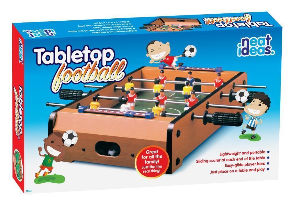 20-034-Compact-Table-Top-Football-Air-Hockey-Pool-Game-Set-Children-Family-Fun-Gift thumbnail 6