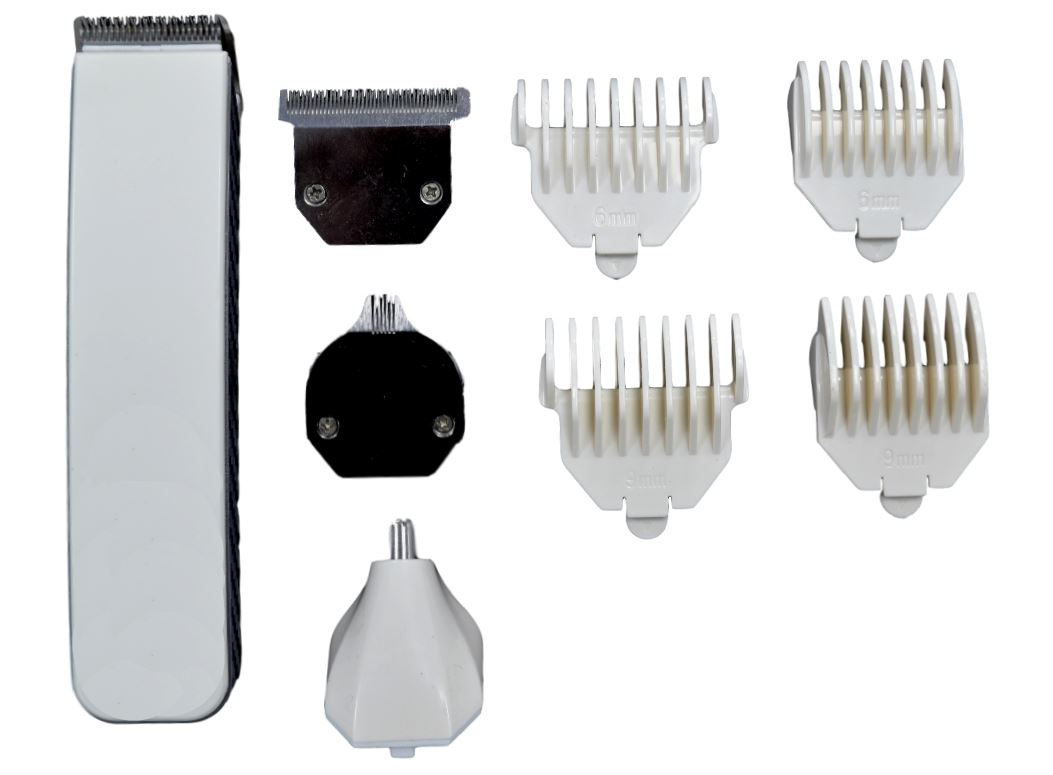 rechargeable hair beard nose shaver clipper trimmer lipper comb grooming kit ebay. Black Bedroom Furniture Sets. Home Design Ideas