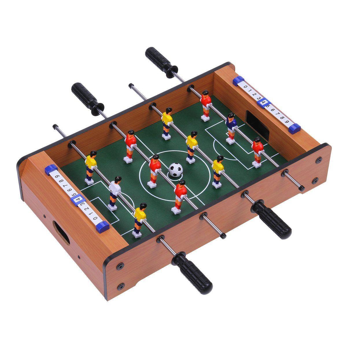 20 mini table top portable football hockey pool game set kids family fun gift ebay. Black Bedroom Furniture Sets. Home Design Ideas