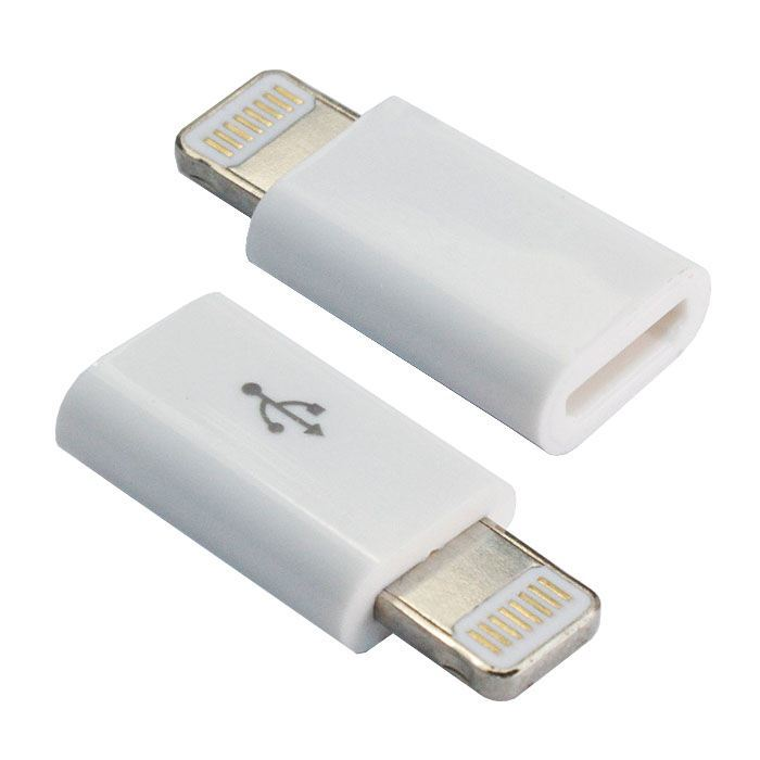 Wholesale 100X 8Pin To Micro USB Charger Converter Adapter