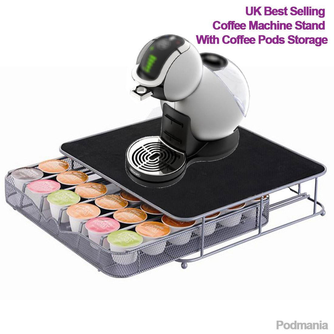 Dolce gusto coffee pod stand and drawer storage holds 36 - Support capsule dolce gusto ...