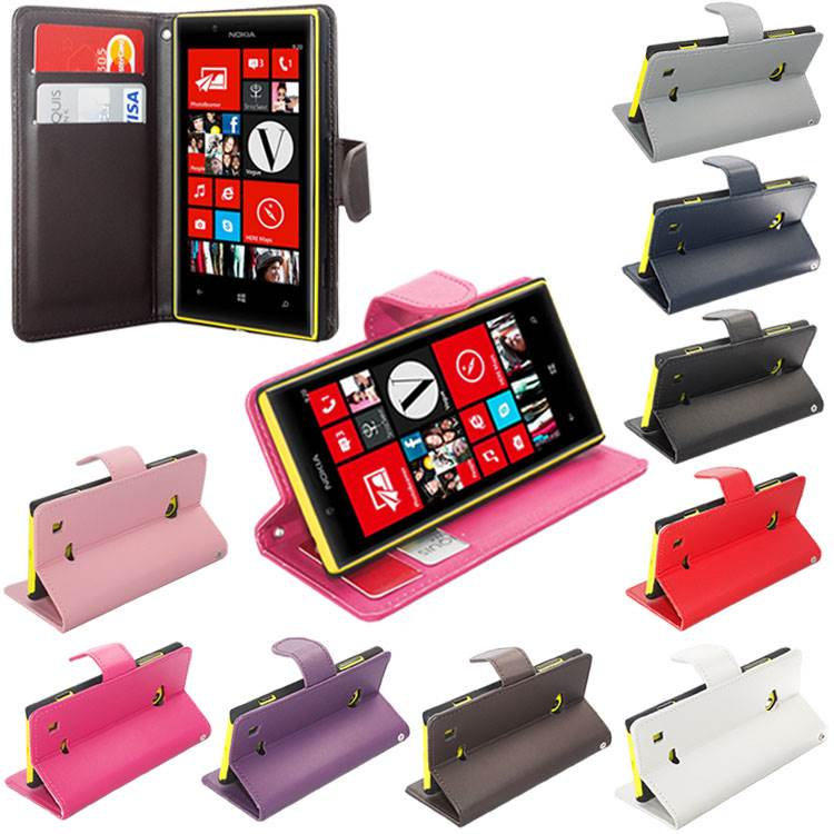 Flip Cover For Nokia Lumia 720 Nokia-lumia-720-plain-side