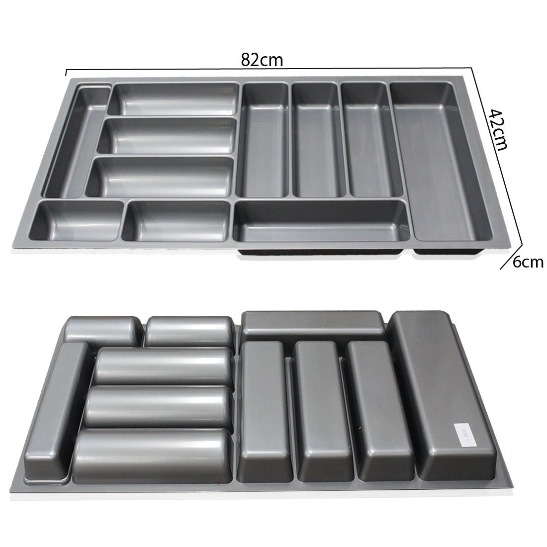 900mm 354quot grau plastik besteck kuche schubladen blum for Besteckfach schublade
