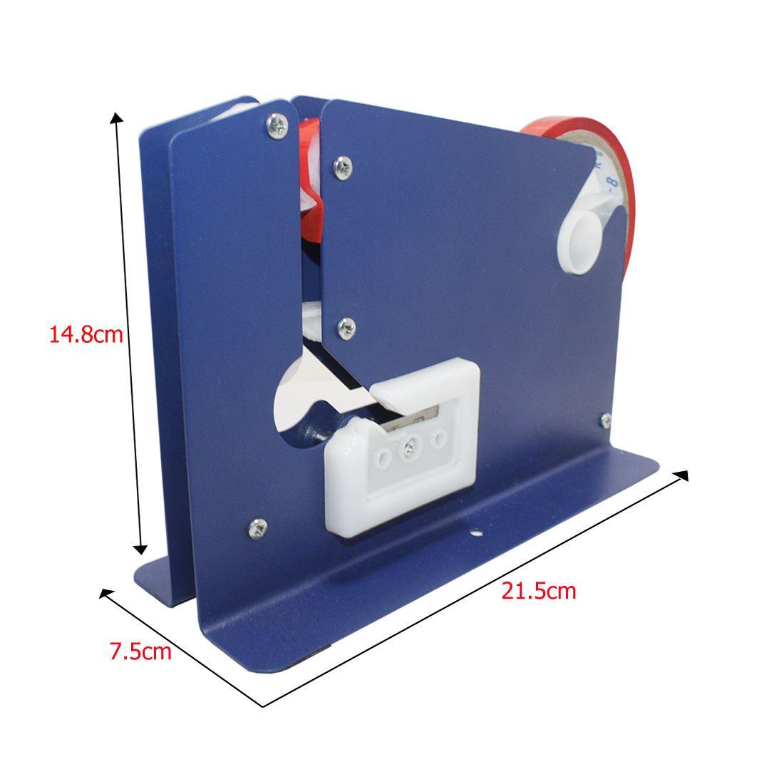 Plastic bag tape sealer - Dispenser Is Suit
