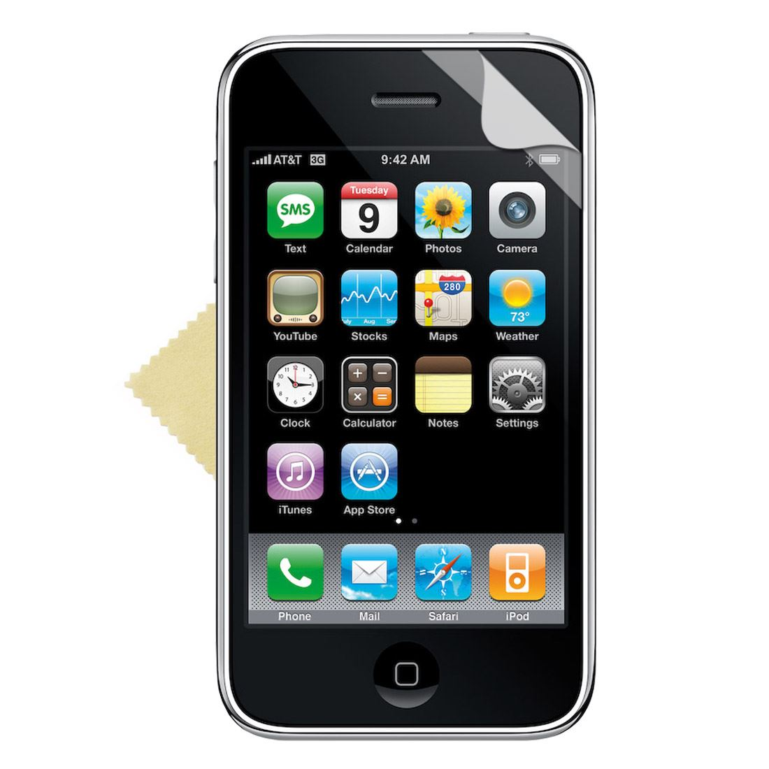 10x-CLEAR-SCREEN-PROTECTOR-FOR-APPLE-iPhone3G-3GS
