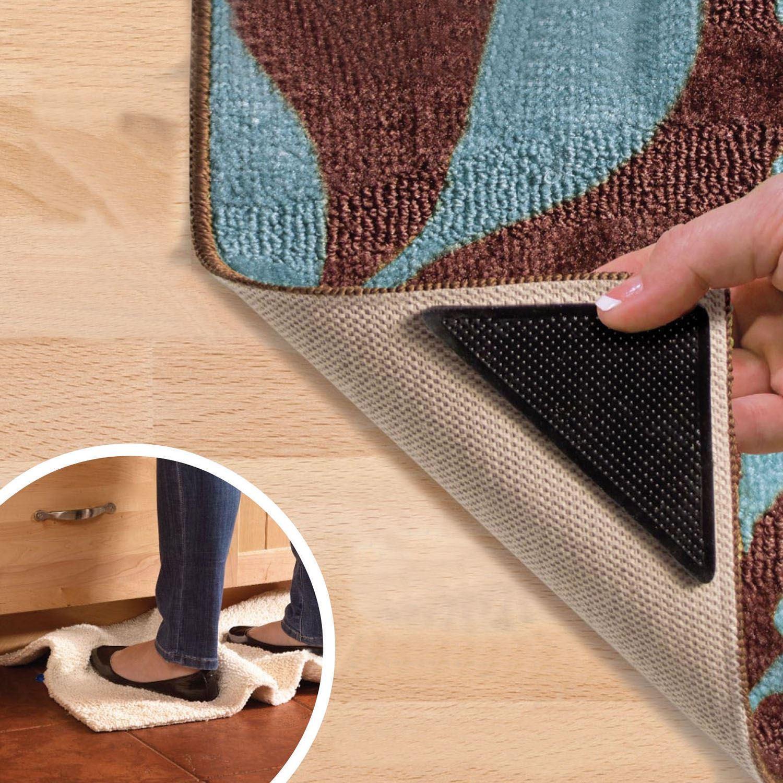 Anti Slip Floor Grips : Mat grips non slip rug gripper carpet reusable tape all