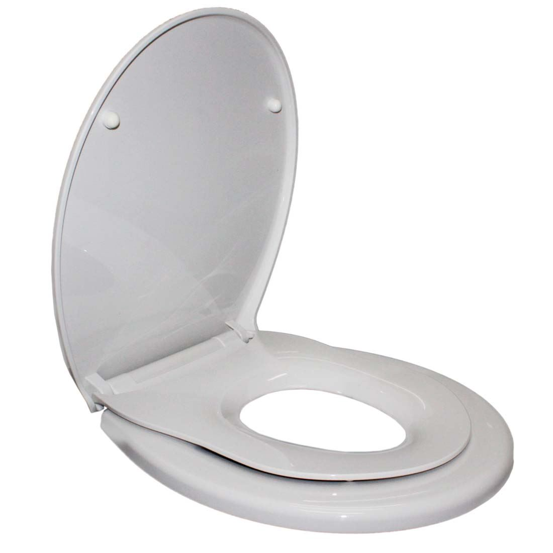 Child Adults Family Soft Close Top Fix Quick Release Toilet Seat Potty Training