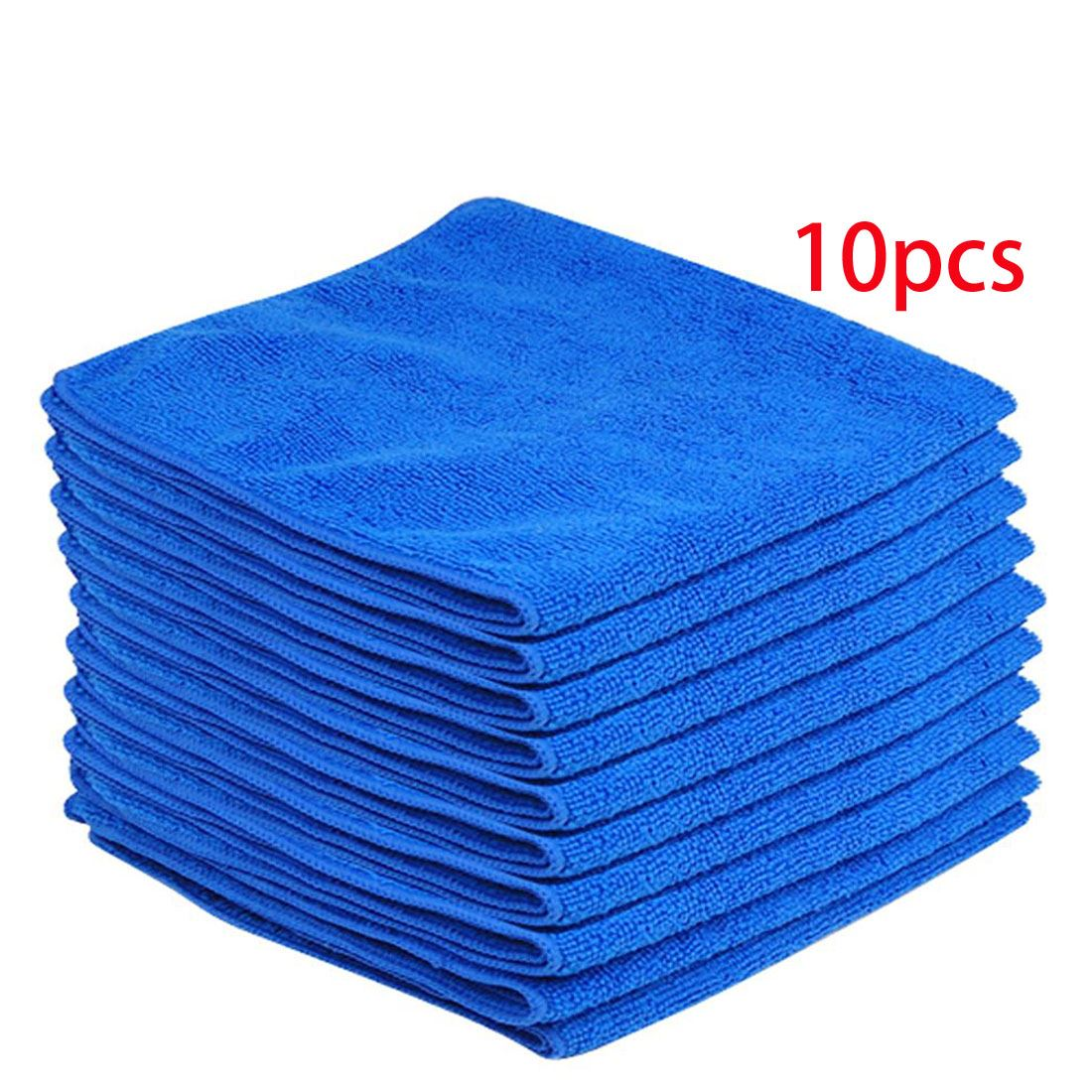 10x large microfiber cleaning auto car detailing soft cloth towel duster wash ebay. Black Bedroom Furniture Sets. Home Design Ideas