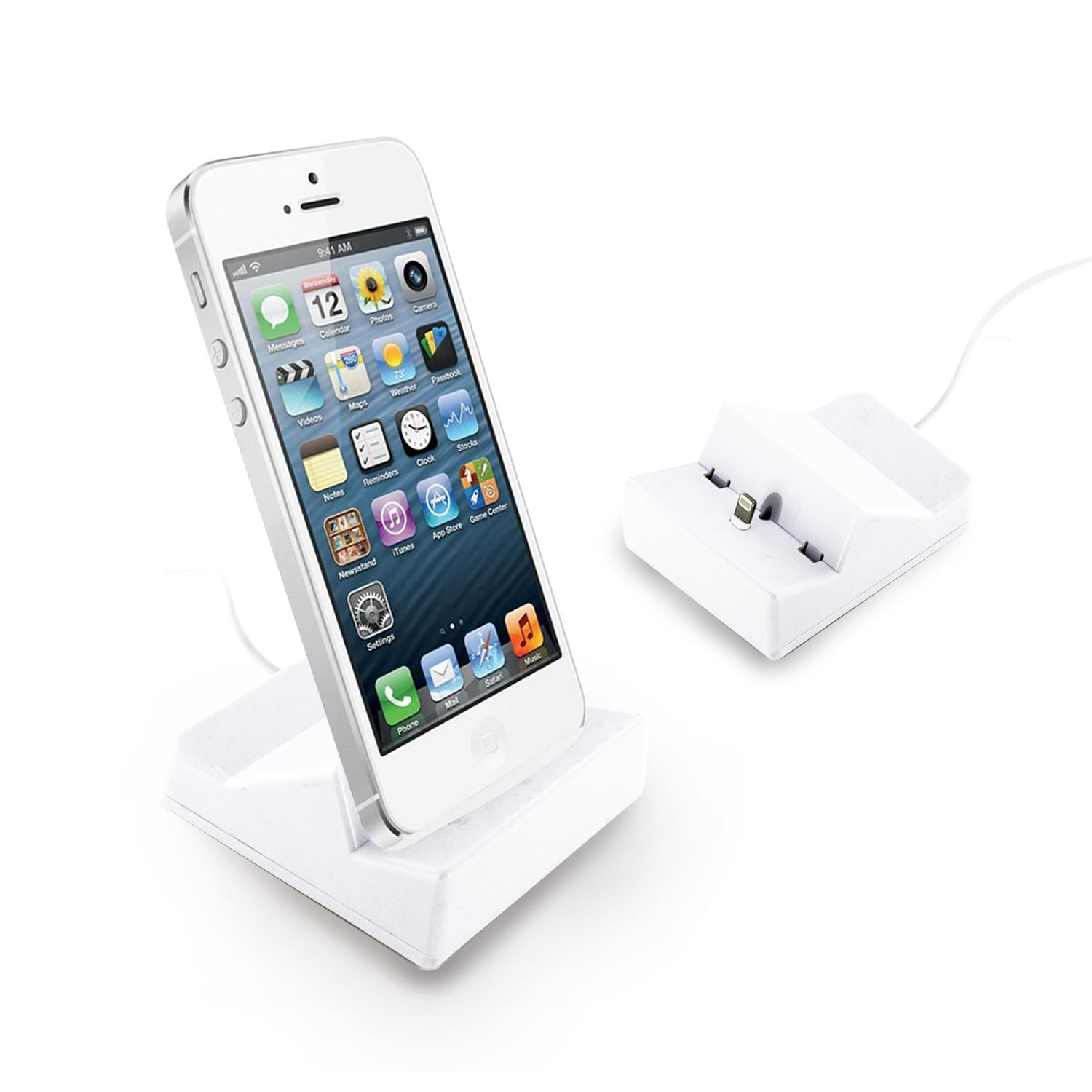 docking dock station stand usb sync cradle iphone 6 plus. Black Bedroom Furniture Sets. Home Design Ideas