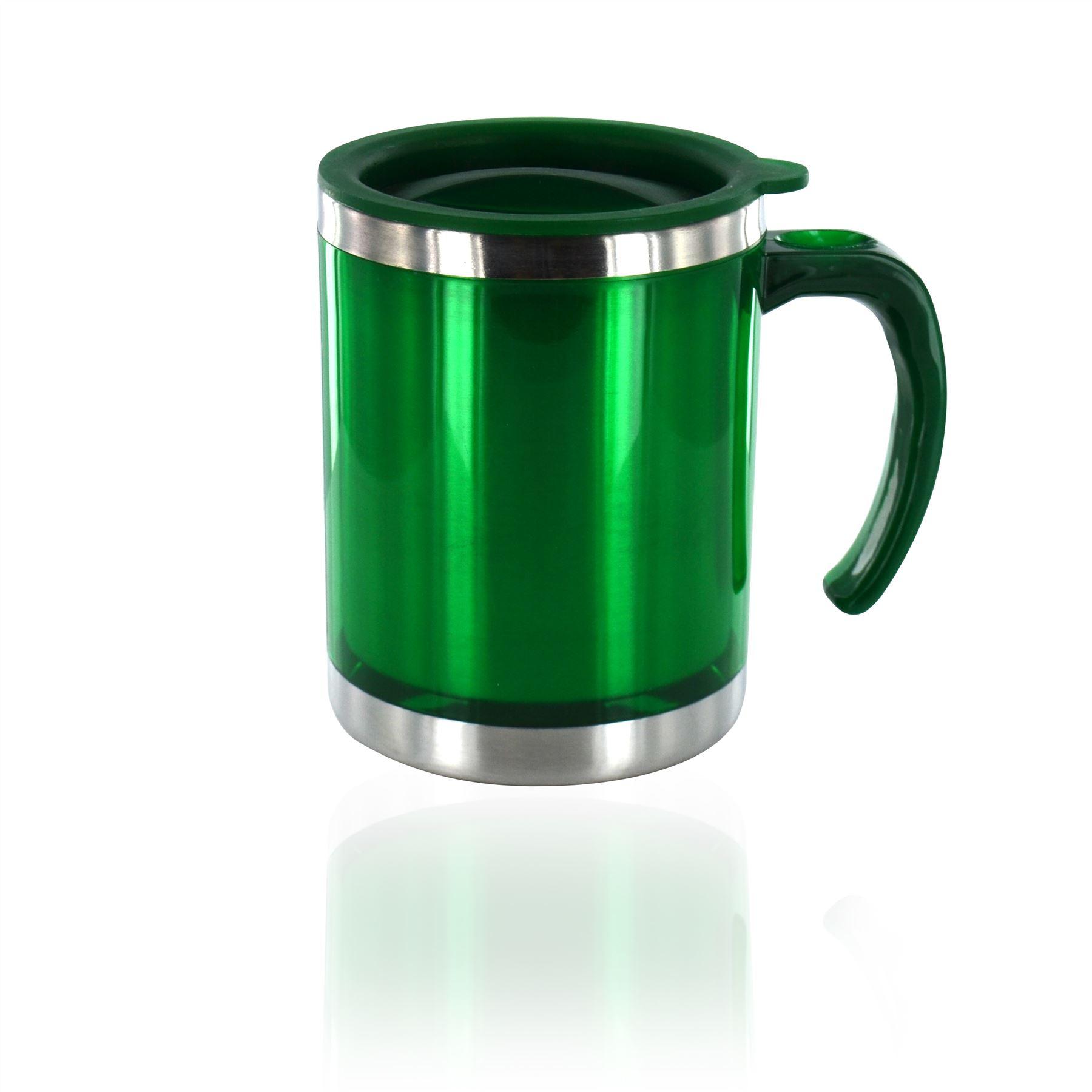 New Thermal Insulated Travel Mug Coffee Tea Flask Cup ...