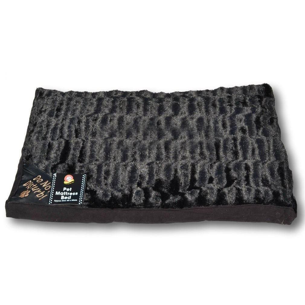 pet dog mattress soft faux fur large luxury mat warm bed puppy pillow. Black Bedroom Furniture Sets. Home Design Ideas