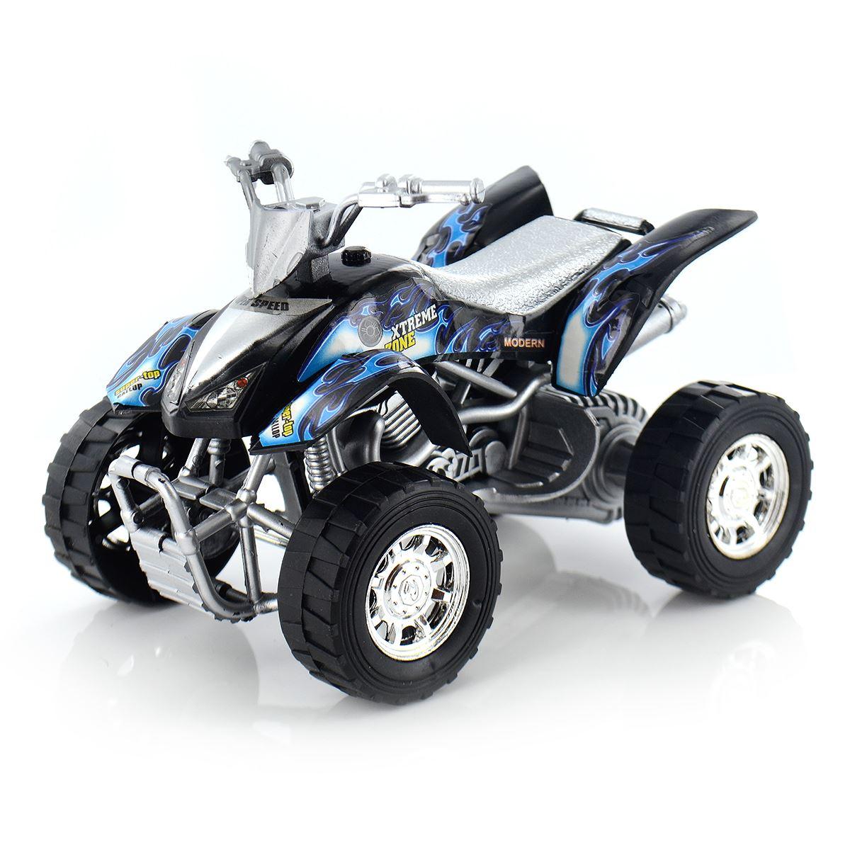 Childrens Kids Plastic Friction Quad Bike Toy Mini ATV ...  Childrens Kids ...
