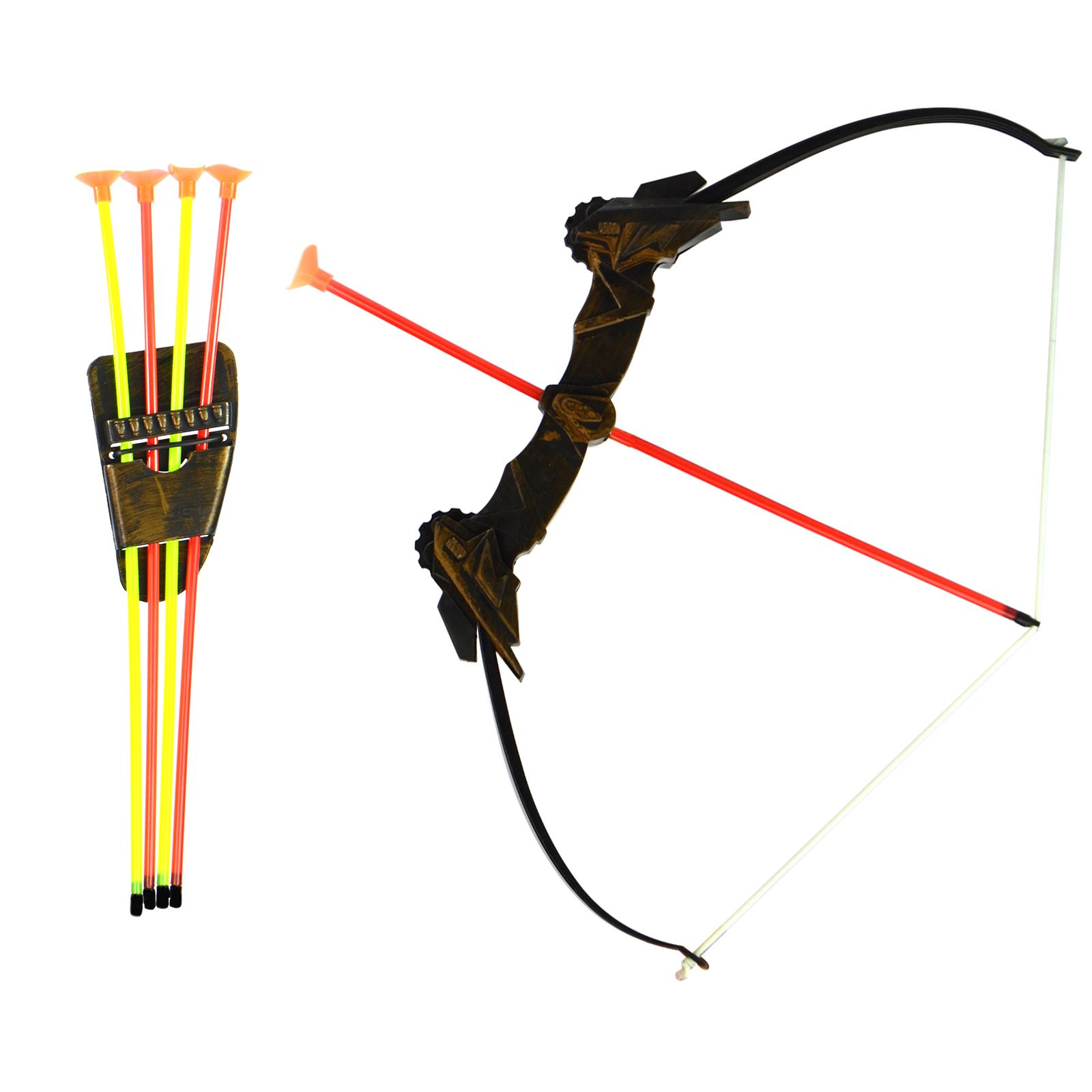 Kids Childrens Plastic Bow And Arrow Archery Set Garden