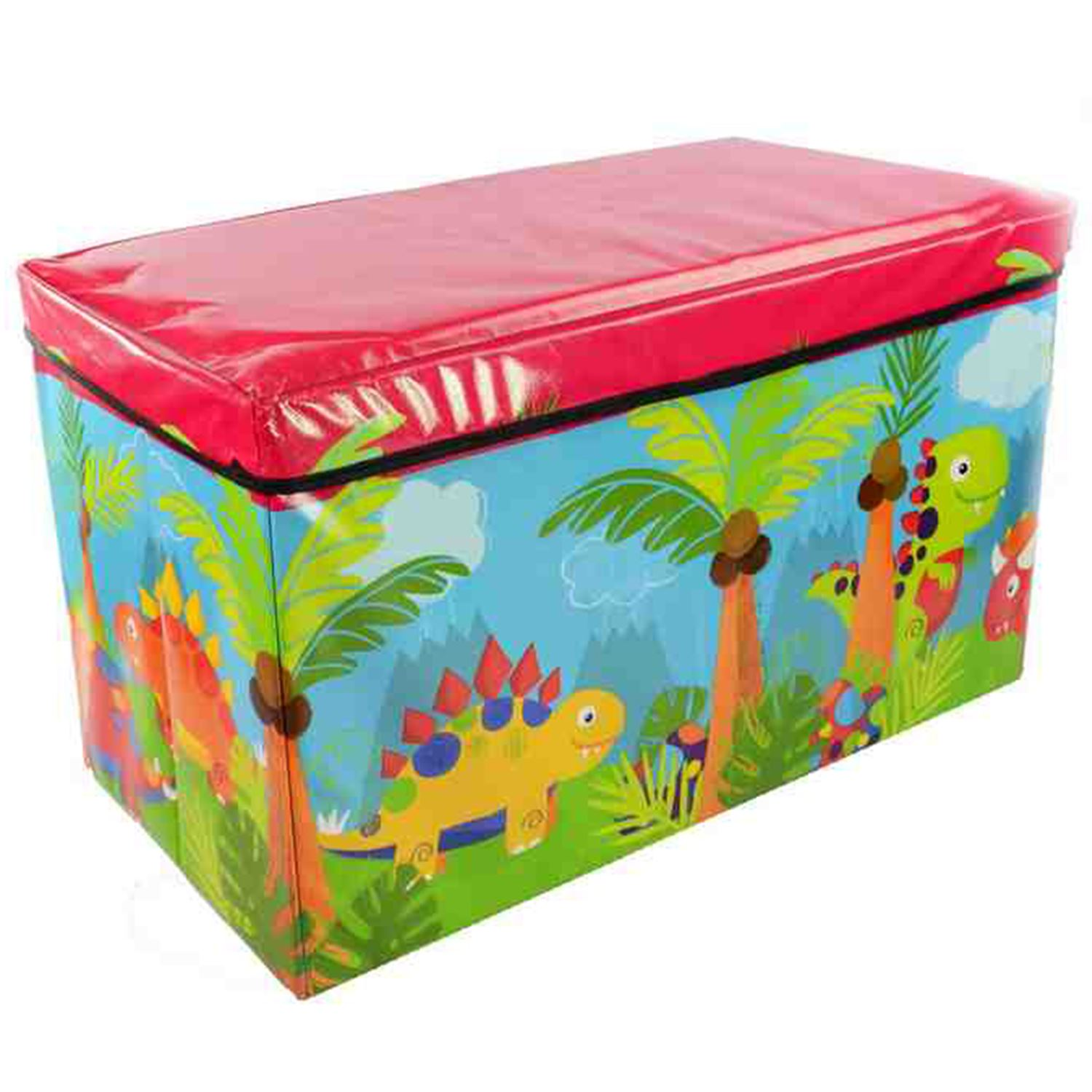 kids childrens boys girls large storage toy box books chest clothes ebay. Black Bedroom Furniture Sets. Home Design Ideas