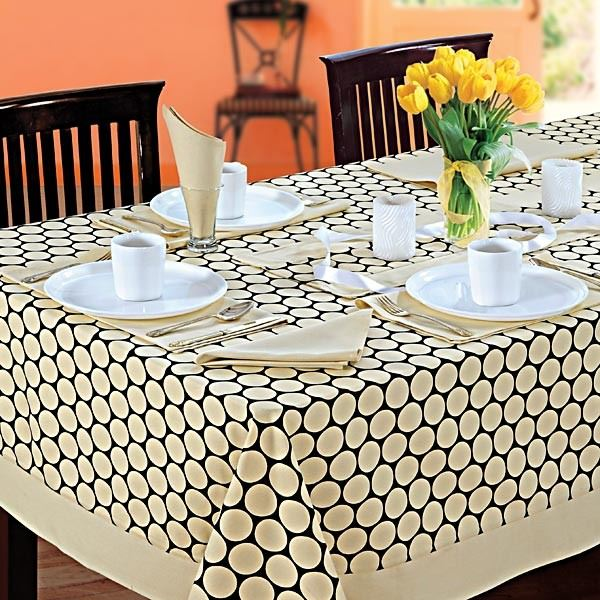 Table linen dining 6 seater kitchen dinner party table for 10 seater table cloth