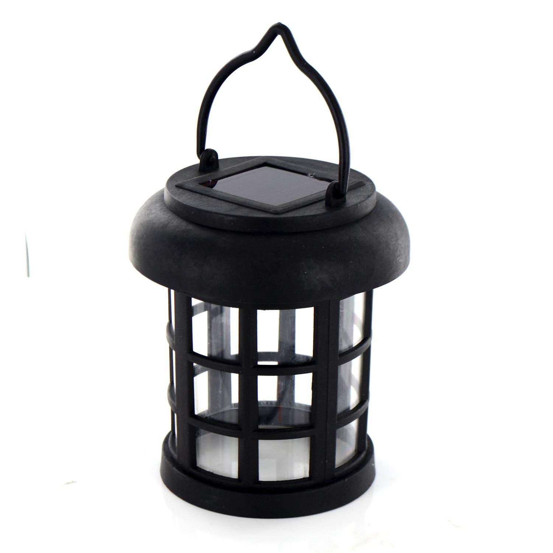solar powered led hanging garden lantern rechargeable. Black Bedroom Furniture Sets. Home Design Ideas