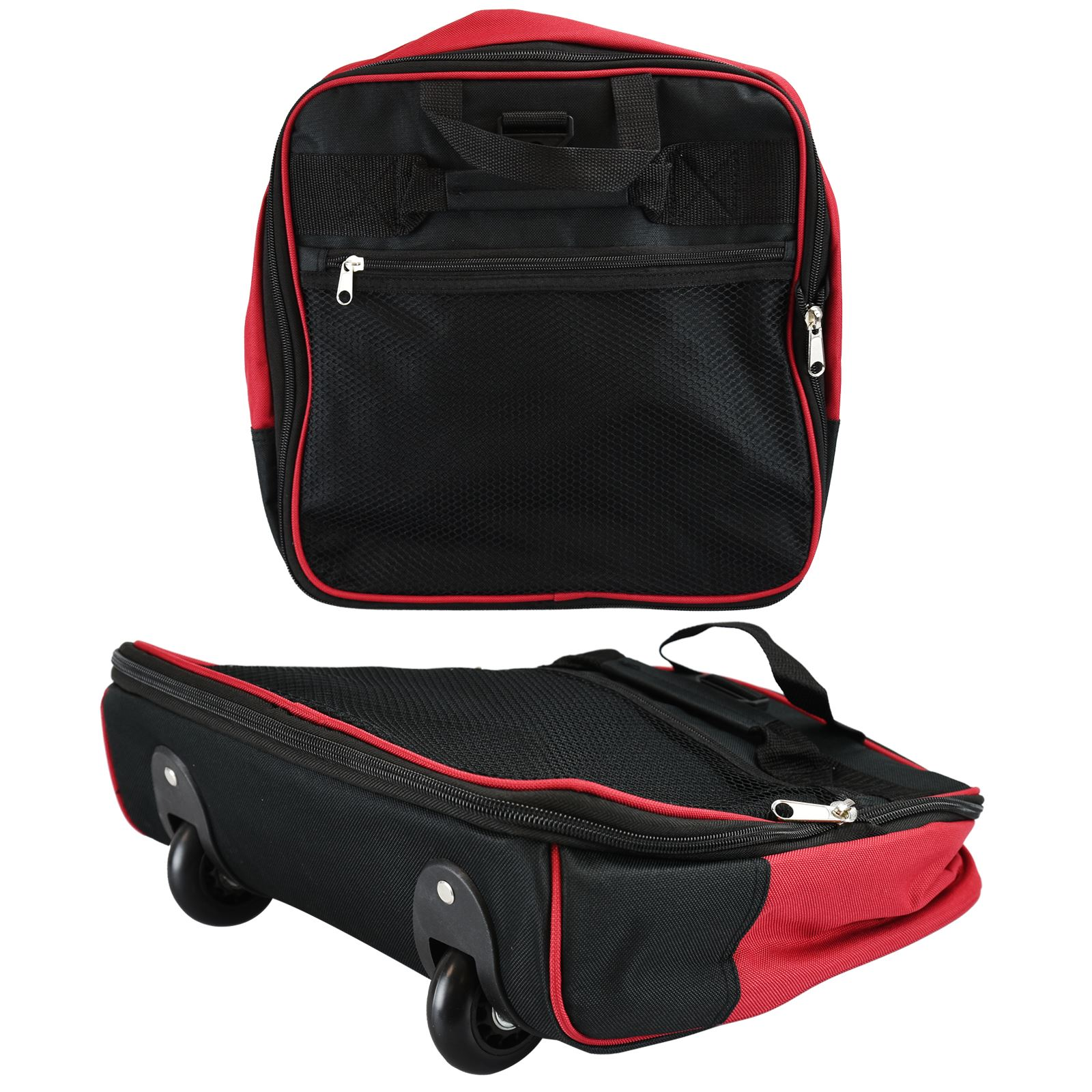 Ez Foldable Wheeled Travel Trolley Bag Holdall Hand Luggage Small ...