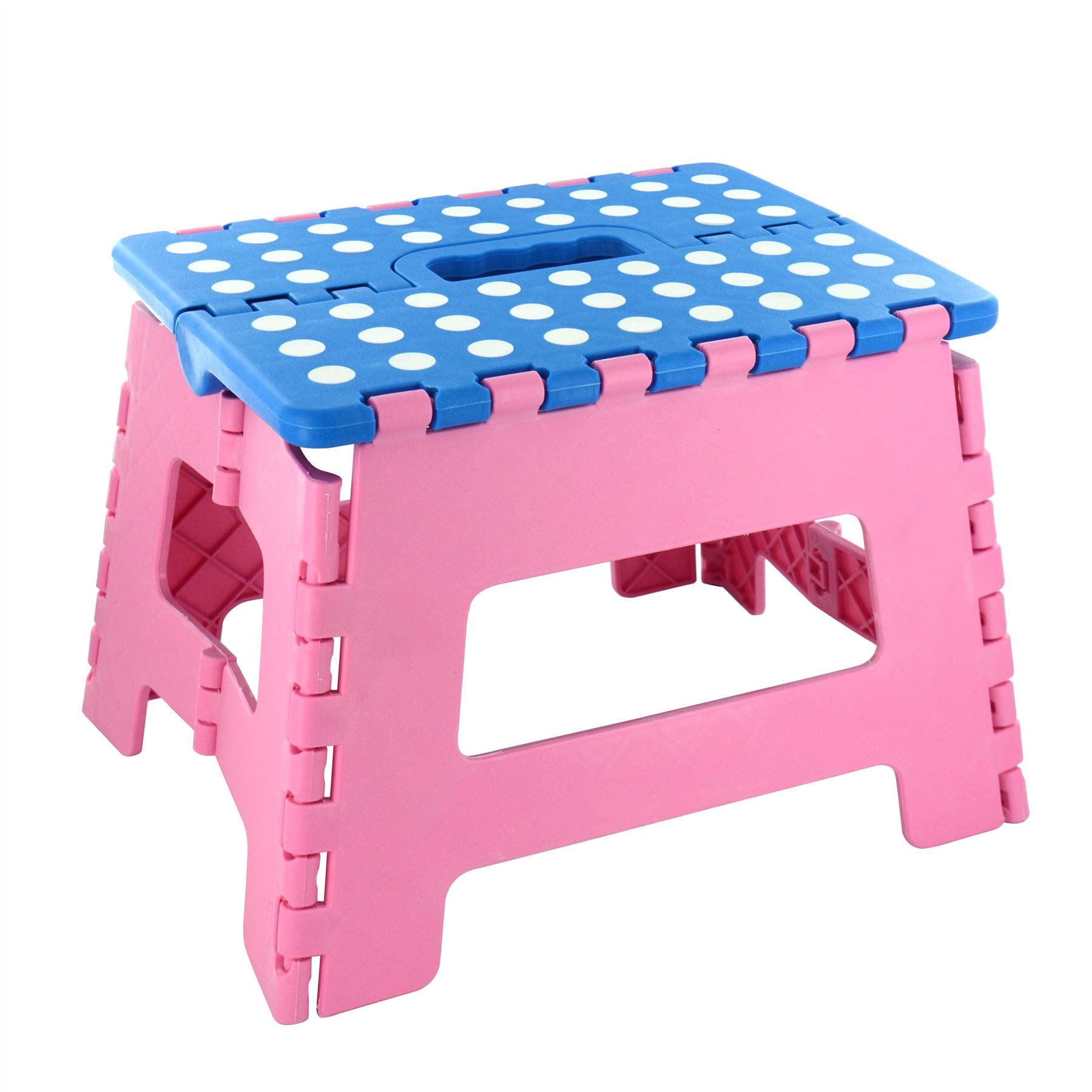 Plastic Multi Purpose Home Kitchen Folding Step Stool Foldable Easy Storage Ebay