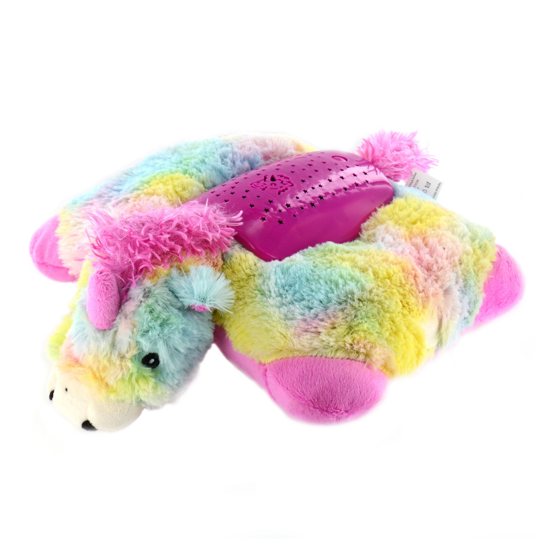 Pillow Pets Night Lights Kids Cuddly Animal Cushion Toy Bedroom Star Projector eBay