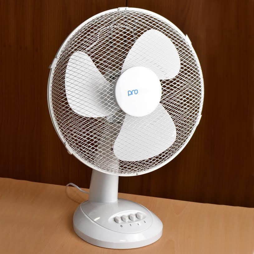 Office Desk Fan : Desk floor standing pedestal oscillating stand cooling