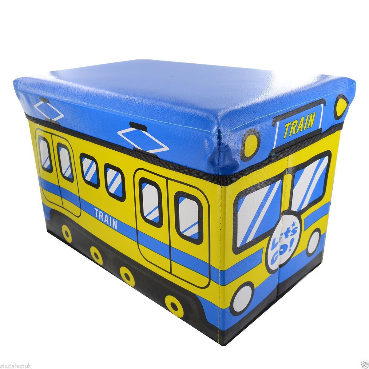 Neu kinder aufbewahrungs box spielzeug truhe sitz hocker
