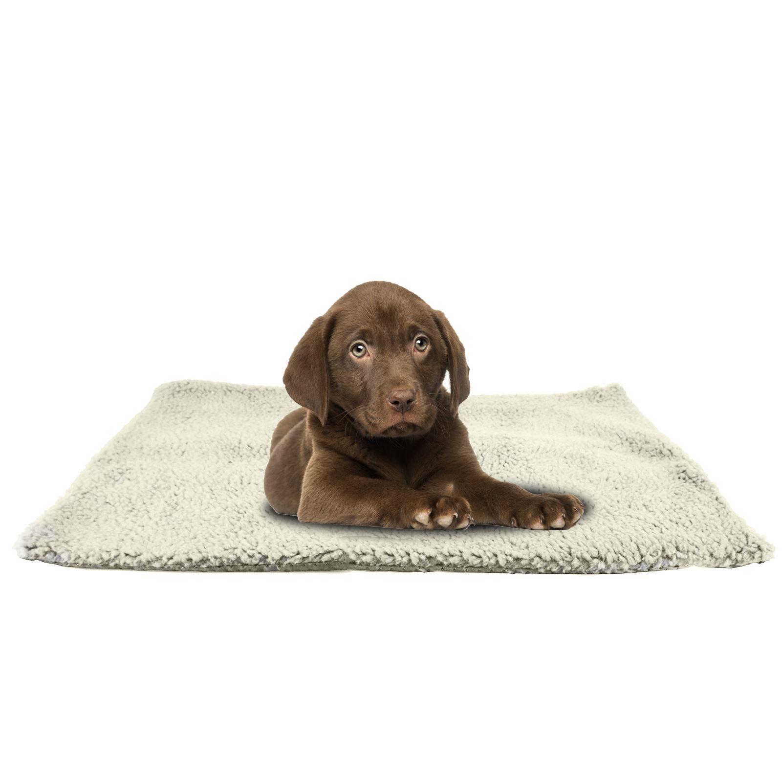 Luxury Pet Cat Dog Rug Mat 46cmx64cm Self Heating Warm