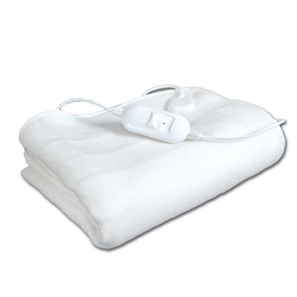 Electric Under Blanket Heated Cover Single Double King Size Duel Control Throw