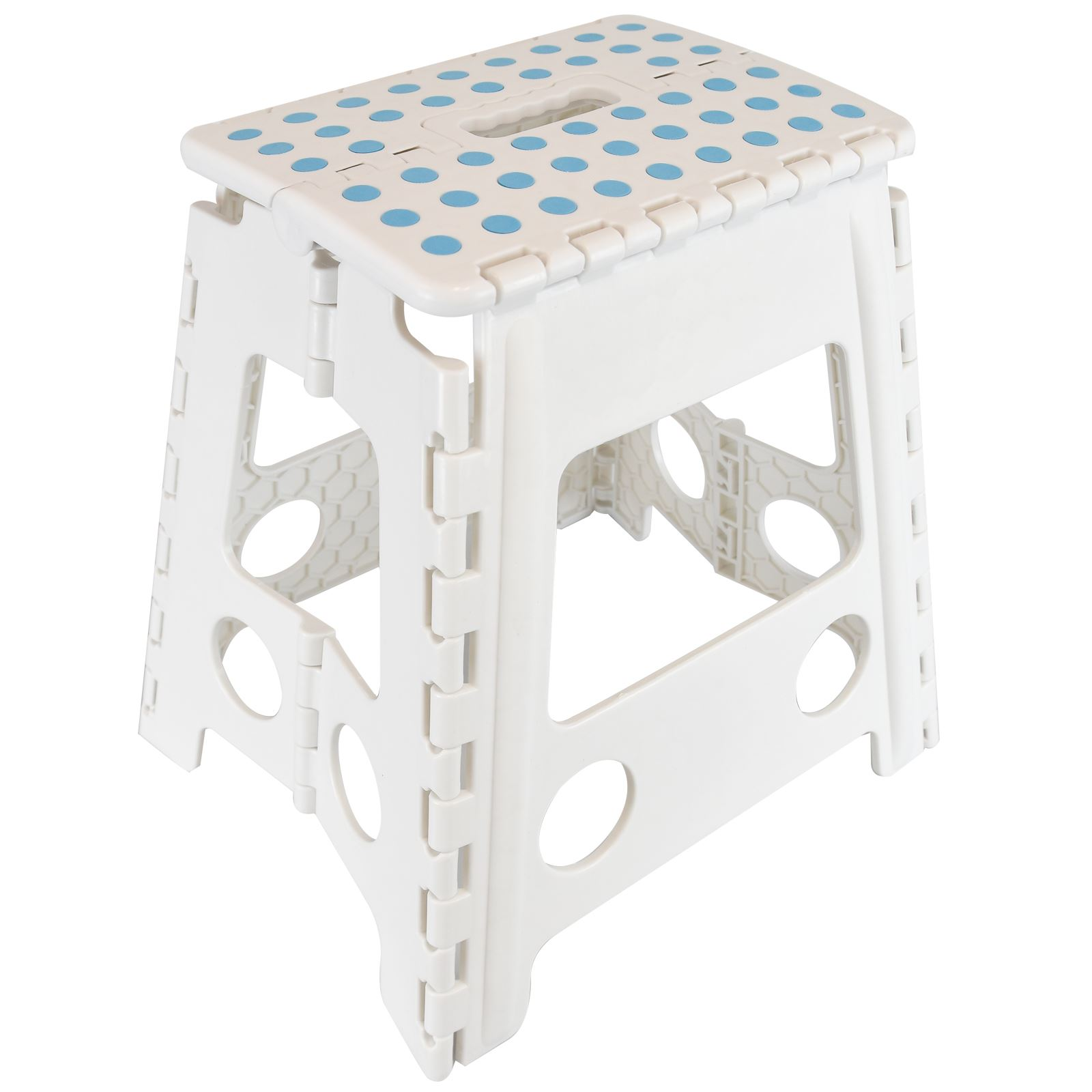 #3D738E Large Multi Purpose Fold Step Stool Plastic Home Kitchen Easy Foldable  with 1600x1600 px of Recommended Tall Plastic Stool 16001600 save image @ avoidforclosure.info