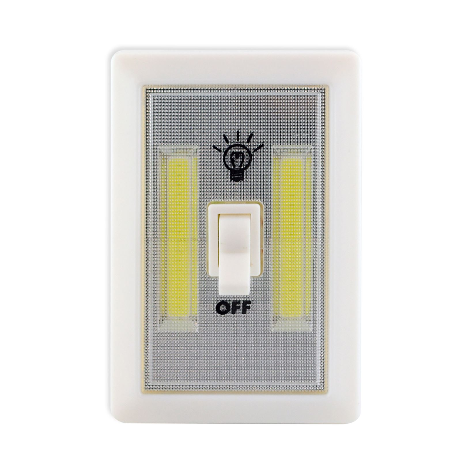 Cob Led 2w Light Switch Super Bright Battery Powered No
