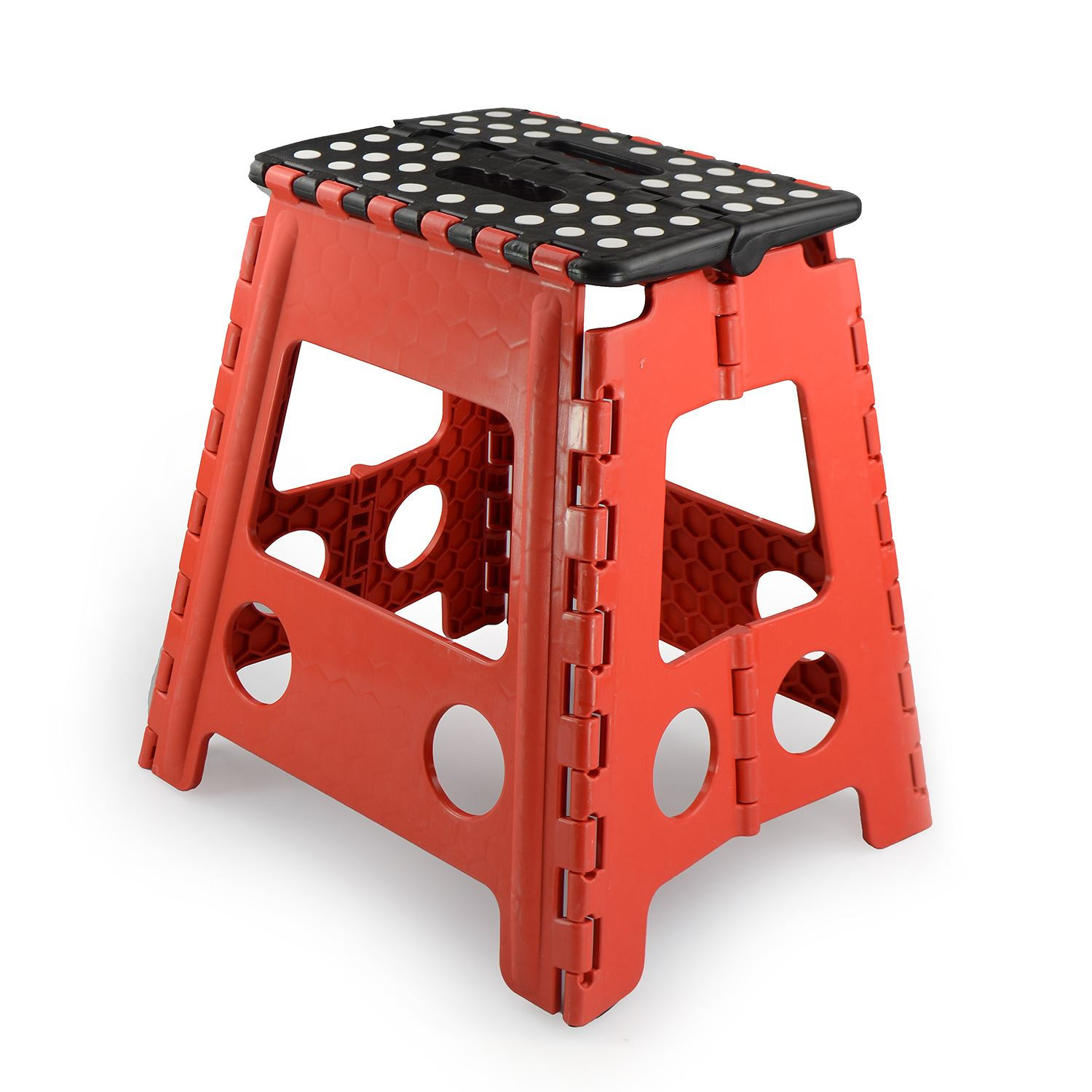 New Plastic Multi Purpose Folding Step Stool Home Kitchen
