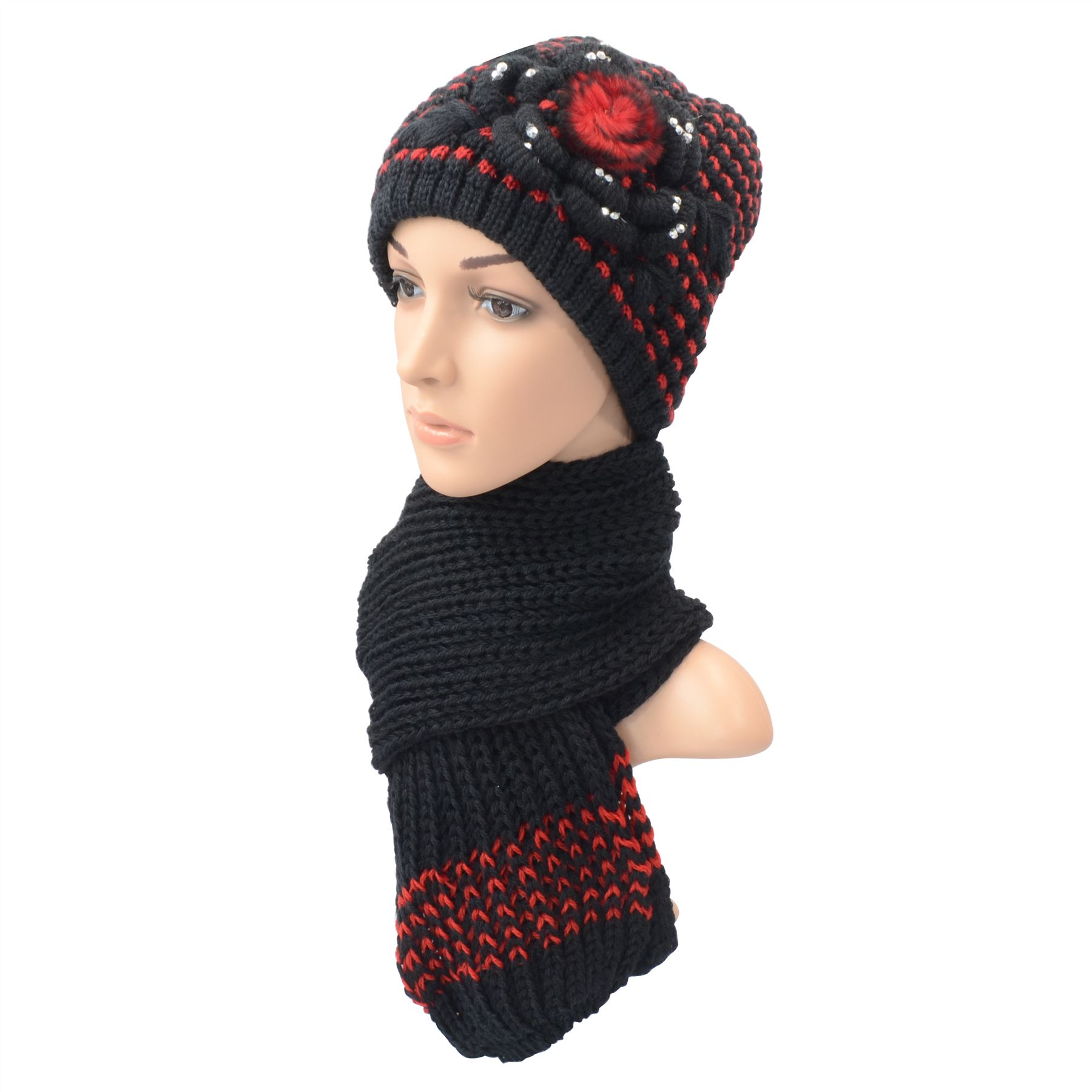 Hats And Scarves. Match your favorite coat with a new set of warm hats and scarves for a fun adventure in cold weather. Whether you like a cashmere scarf or a knit beanie, you can find the scarf that matches your coat and your personality.. Gray or black beanie hats and scarves come with matching fingerless gloves for an easily-matched set that keeps things simple.