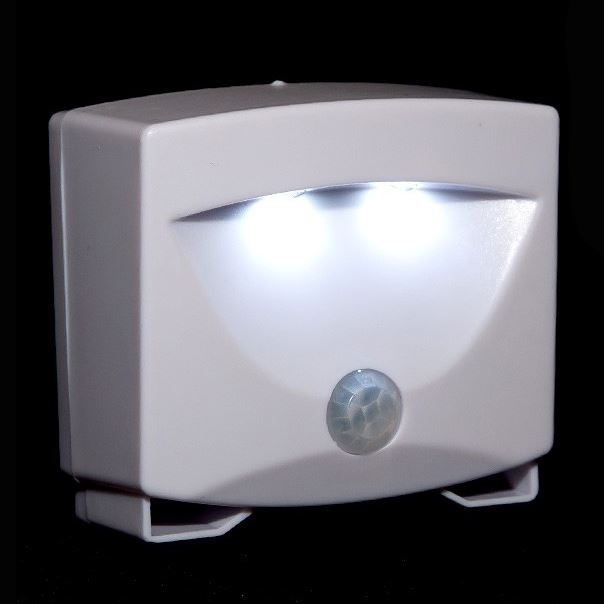 led motion activated sensor security light outdoor indoor cordless night lamp ebay. Black Bedroom Furniture Sets. Home Design Ideas